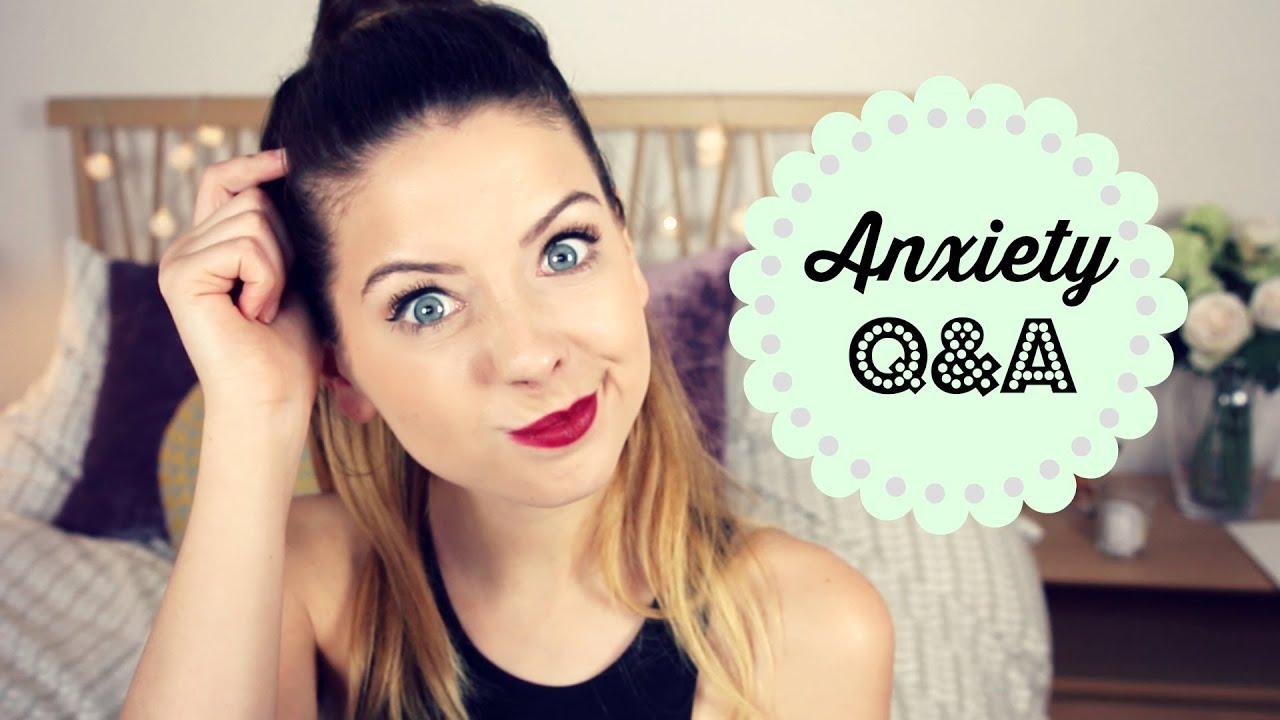 Anxiety Q&A | Zoella - YouTube