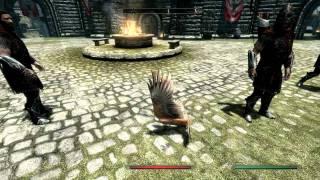 Skyrim gameplay - Solitude [High settings - HD 720p]