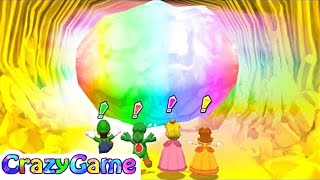 Mario Party 10 Mega Blooper's Bubble Battle +More Mario Party Minigames Gameplay