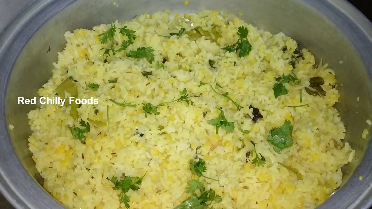 Hyderabad Style Khichidi | How to Prepare Khichidi | Khichidi preparation with Masoor Dal