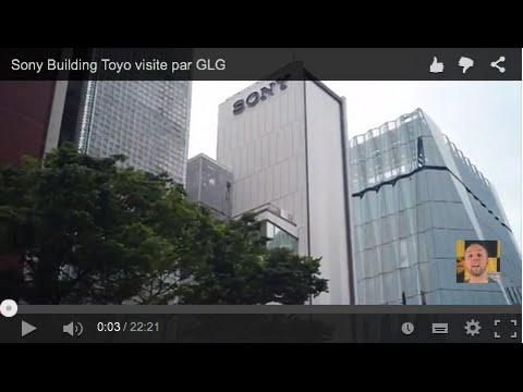 Sony Building Tokyo Japan visite par GLG