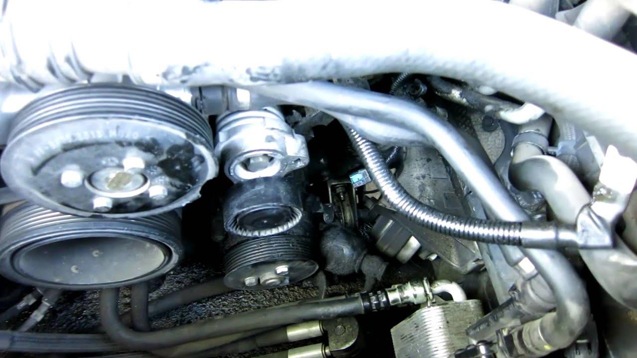 Li Engine Diagram Bmw E65 E66 Alternator Replacement Installing New