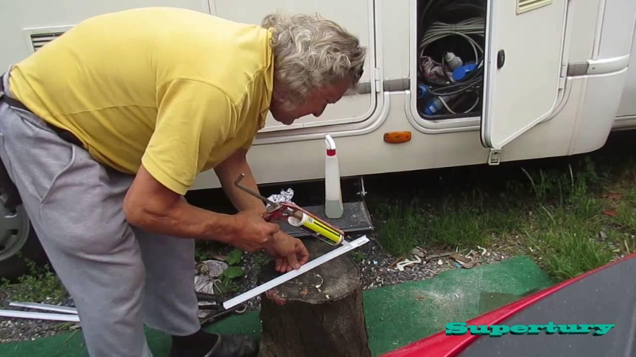 Creare una finestra nella porta del camper seconda parte youtube - Rifare il bagno del camper ...