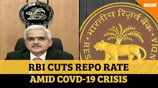 RBI cuts repo rate by 75 bps, allows 3-month moratorium on EMIs