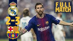 FULL MATCH: REAL MADRID 2-3 BARÇA (The Blaugrana take the Miami Clásico)