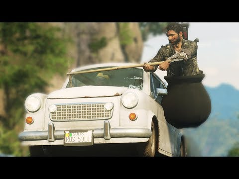 Getting Over It in Just Cause 4! |