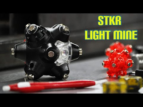 STKR Concepts Light Mine Professional 250 Lumens | Hands Free LED Magnetic Flashlight