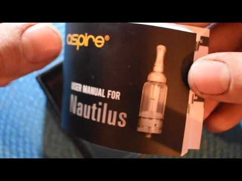 Nautilus adjustable airflow tank system by ASPIRE