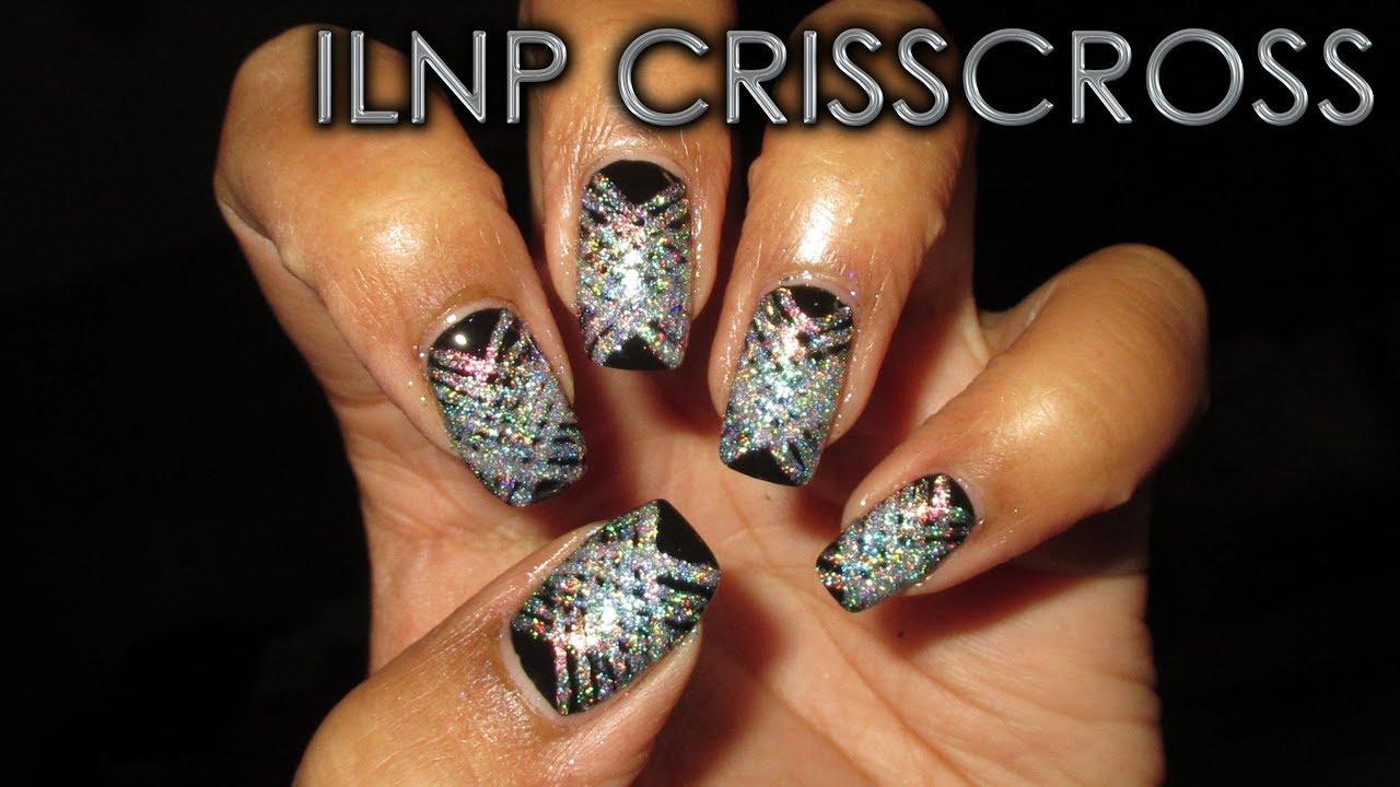 Ilnp Crisscross Diy Nail Art Tutorial Youtube