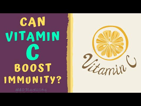 CAN VITAMIN C BOOST IMMUNITY?? How to boost immunity naturally.