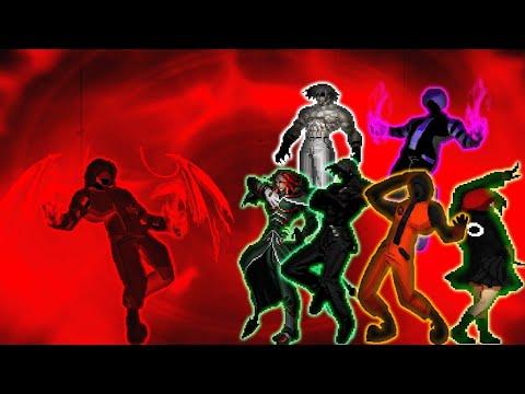 [WinMugen] Destroyer vs Archimonde, Big Bang Donald, Akiha H.A, Neo Reaper Exile, Storm Igniz