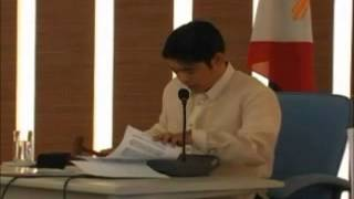 Inaugural Session of City Council of Santa Rosa, Laguna 2010 part 2 of 3