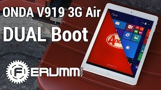 Onda V919 3G Air Dual Boot полный обзор. Клон iPad Air с Windows и Android на борту - от FERUMM.COM(Onda V919 3G Air Dual Boot купить по выгодной цене: https://goo.gl/McYnYt Onda V919 3G Air Dual Boot предоставлен на тест каналом VTNT: ..., 2015-05-11T22:57:13.000Z)