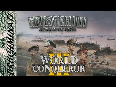 World Conqueror 3   Hearts of Iron Mod Review V. 0.86 Finally!