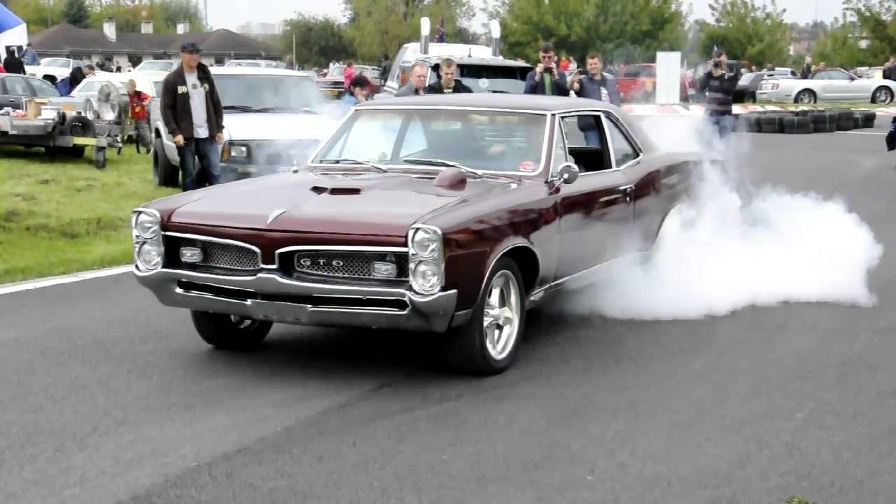 1967 Pontiac Gto Post Burn Out Youtube