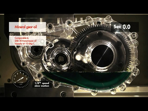 Shell Spirax synthetic transmission fluid demo