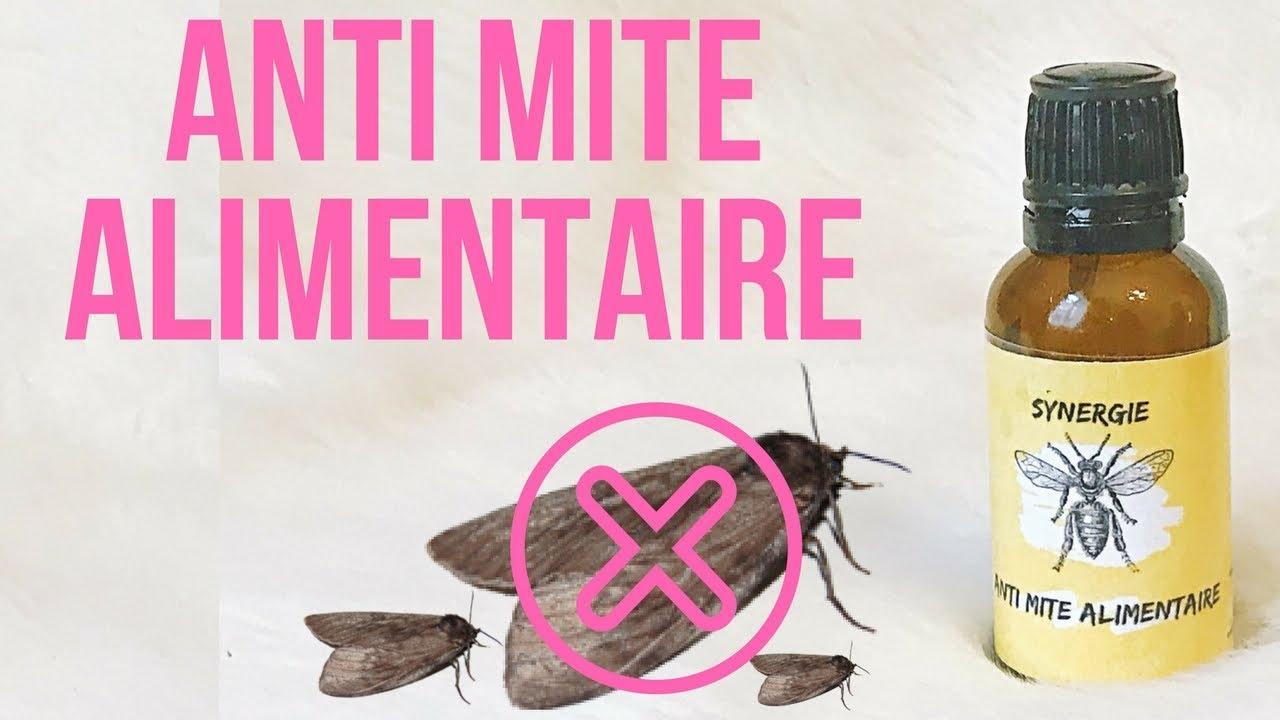 huile essentielle contre les mites alimentaires