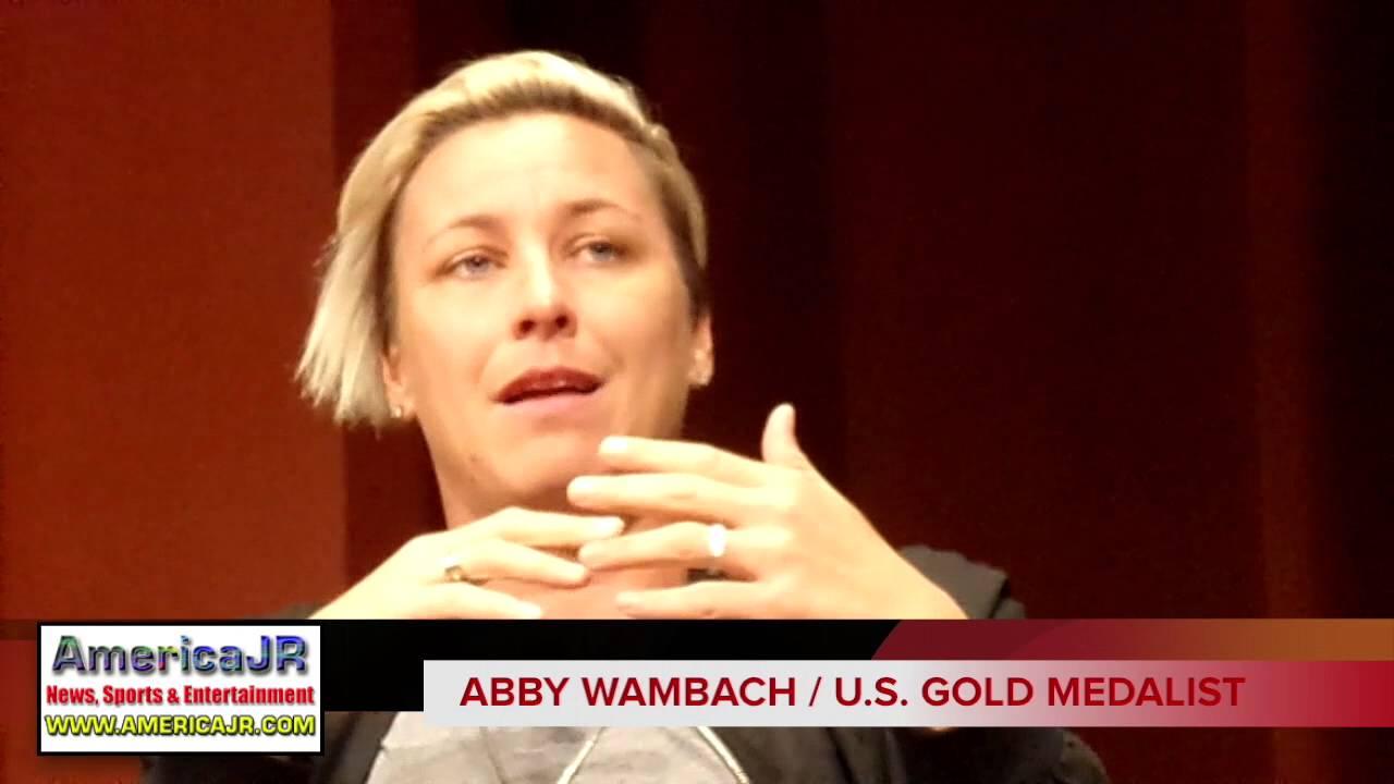 Abby Wambach Talks Iconic Kiss With Wife Sarah Huffman Youtube