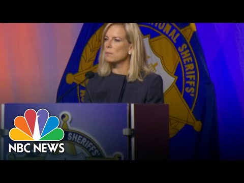 Homeland Security Chief, Atty. General Sessions Defend Zero-Tolerance Border Policy | NBC News