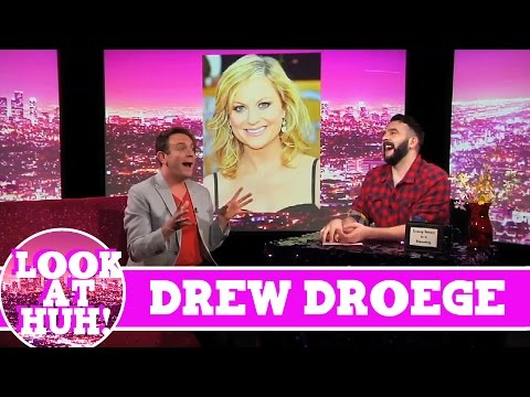 Drew Droege LOOK AT HUH! On Season 1 of Hey Qween with Jonny McGovern