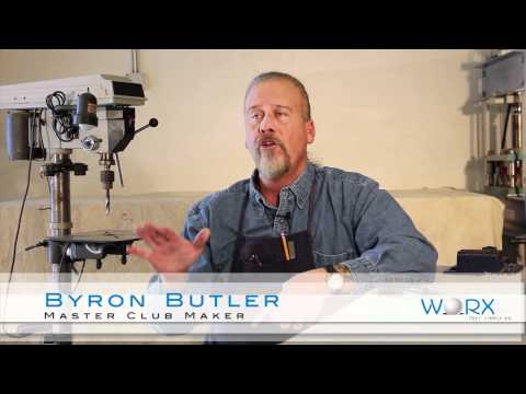 Byron Butler, Master Maker of the new WORX Wedge