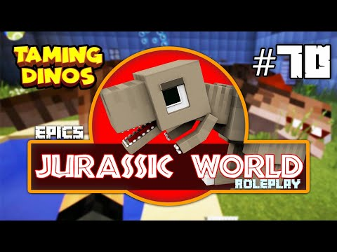 EPiC'S Jurassic World: MINECRAFT DINOSAURS TAME & DINO BELL