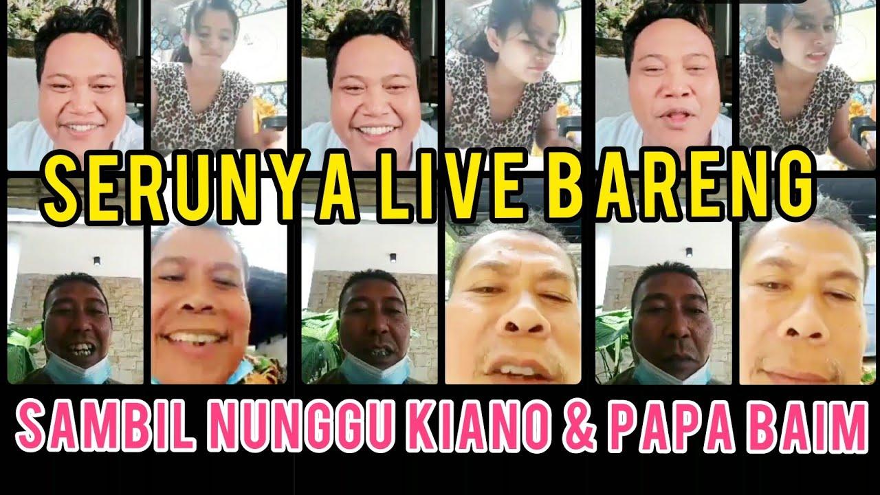 SAMBIL TUNGGU KIANO & PAPA BAIM, SERU BANGET SIANG-SIANG LIVE BARENG ❤️