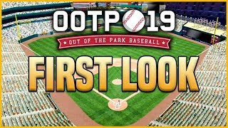Out of the Park Baseball 19 - First Impressions & Starting My Career