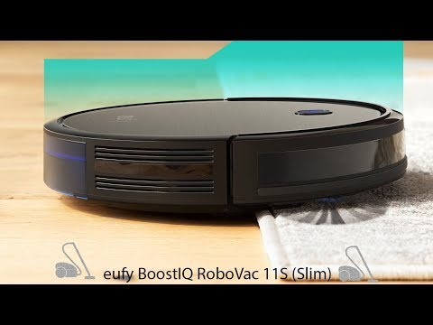 🥇 eufy BoostIQ RoboVac 11S (Slim) - Best Sellers in Robotic Vacuums 2019