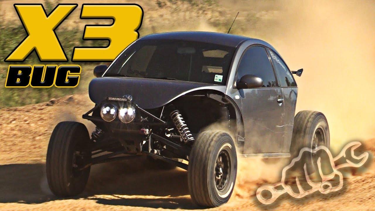 Street Legal Can Am X3 Bug Conversion