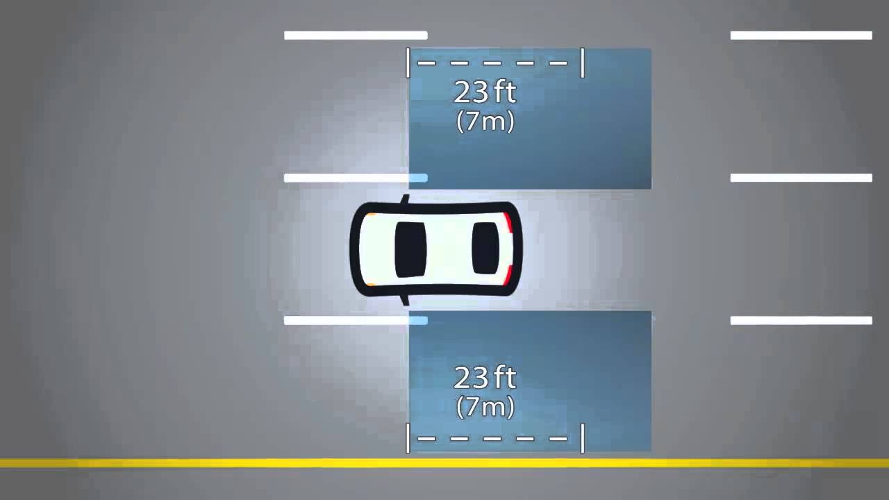 2015 Dodge Dart Blind Spot Monitoring System Youtube