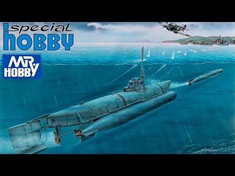 "FULL VIDEO BUILD WW2 GERMAN SUBMARINE ""BIBER""."