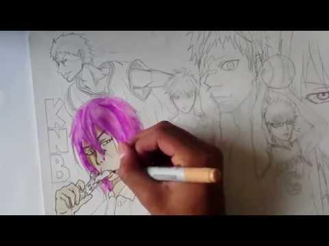 Draw / Dessiner PART 1 : La génération des miracles - Kuroko no Basket