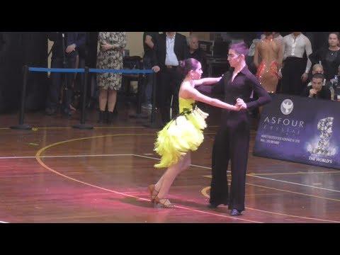 Junior Open Latin One Dance RU