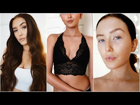 THE ULTIMATE SKIN CARE, HAIR CARE & TANNING ROUTINE | Hannah Renée