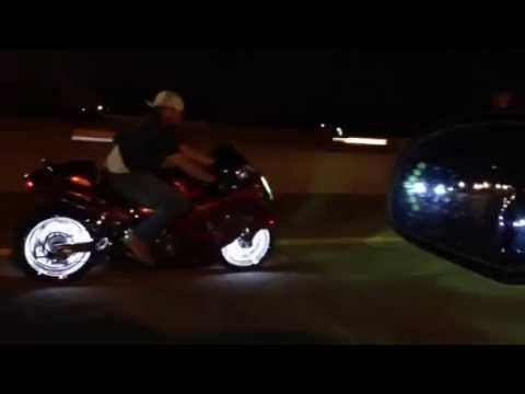 Hayabusa Led Wheel Lights Spins Inside The Wheels Power Puc Raw Design Cycle You