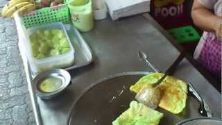 Dessert - thai street food Bangkok