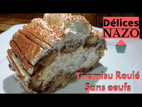 #asmr-tiramisu-roulé--#bûche-en-tiramisu--recette-sans-oeufs-