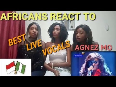 Agnez Mo : BEST! Live Vocals Compilation reaction video by AGA