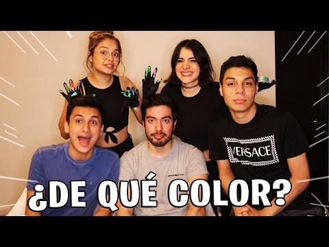NOS PINTAMOS TODOS EL CABELLO DE UN COLOR!!! ft YAIR17, ANTRONIXX, JOSUE07 Y BARBIE.
