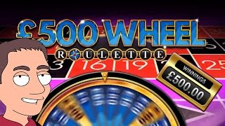 £500 Wheel Roulette, Two Bonuses in William Hill FOBT(, 2016-06-27T10:29:30.000Z)