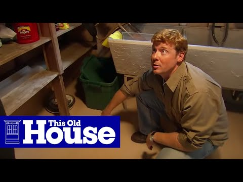 How to Install a Flood Control System | This Old House