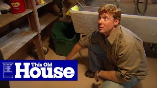 How to Install a Flood Control System - This Old House