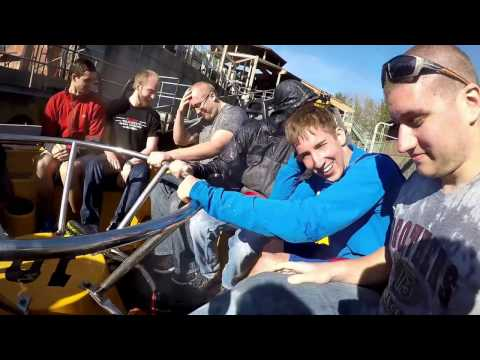 Six Flags Great America Trip - April 2016