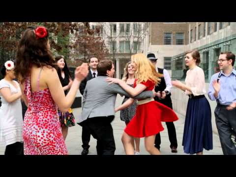 Swing Dancing in London