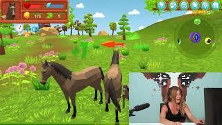 Game TV Schweiz - Pferdefachfrau Nastassja beschreibt ihren Traummann