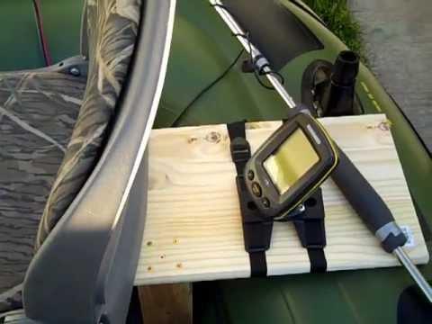 Sevylor hf 360 fish hunter wood floor doovi for Wood floor intex excursion 5