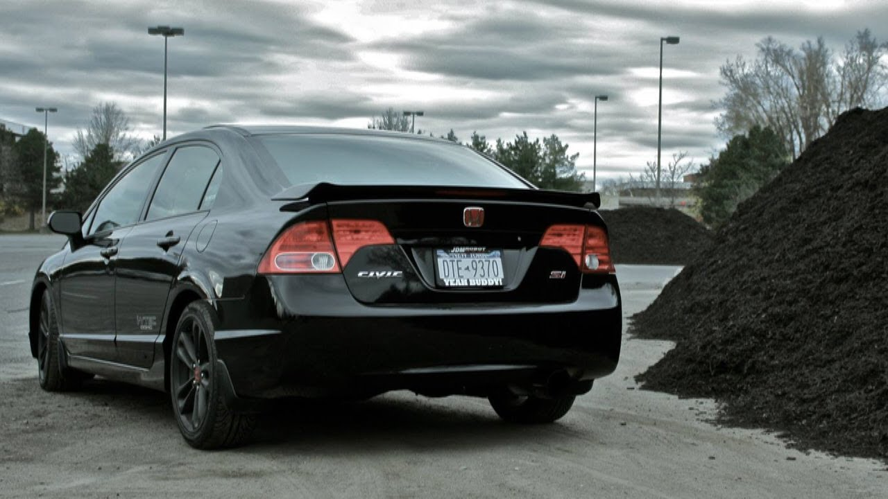 The Transformation of My 2007 Civic Si FA5 - YouTube