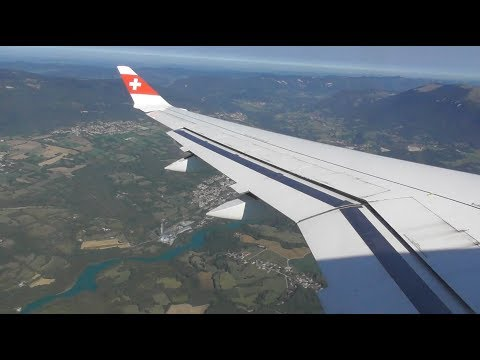 Swiss Bombardier CS100 | London Heathrow to Geneva *FULL FLI