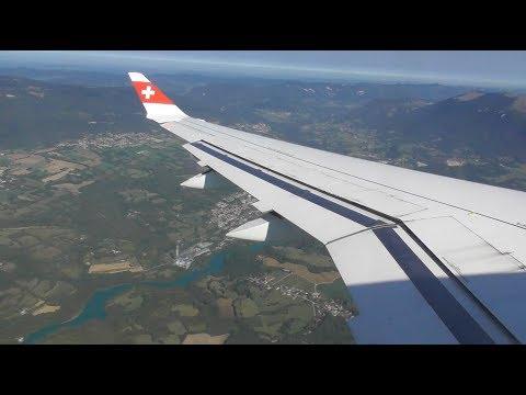 Swiss Bombardier CS100 | London Heathrow to Geneva *FULL FLIGHT*